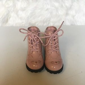 Wonder nation pink kids boots